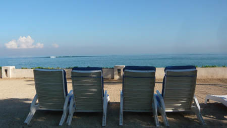 バリ島 クタのビーチ
