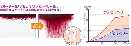 ナノビルベリーの効果 比較