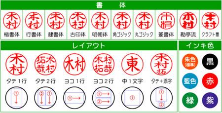 進化したシャチハタ 書体も選べるキャップレス9(今更ネタ)