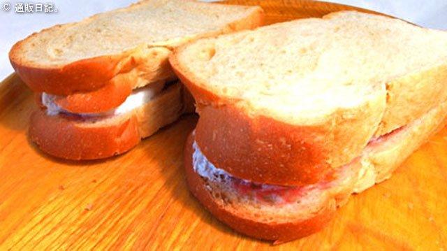 パン工房カワ 生クリームサンドがシンプルに美味しい!シアワセ ☆