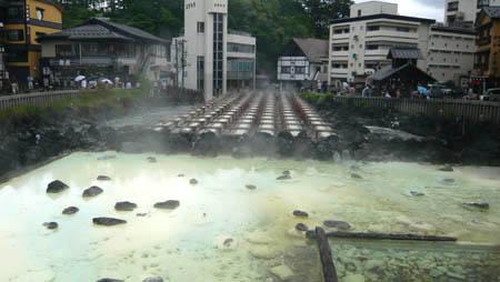 草津温泉ホテルみゆき バス利用で格安避暑旅行。