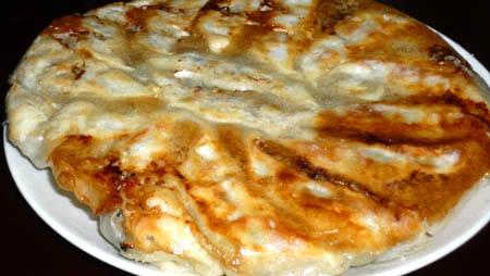 セラブリッドフライパンで焼いた餃子