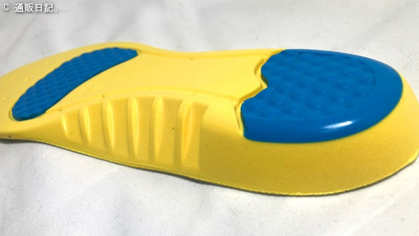 低反発素材インソール 1サイズ大きい靴に使える中敷きは立ち仕事&安全靴におすすめ。