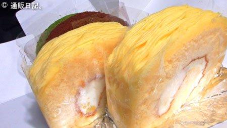 ロリアン洋菓子店 黄金のモンブランロール 美味いが栗の旬を味わうには物足りない~