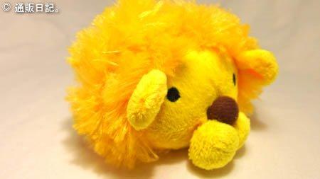 [犬のおもちゃ] ペッツルート まんまるズーズー ライオン ボール遊び用にも◎