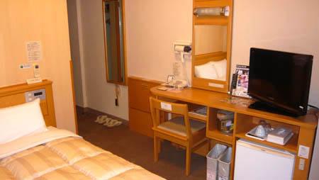 ホテルルートイン会津若松 客室